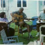 Myrna, Bob & Jim at 2012 Memorial Day Picnic, Chaplin, CT