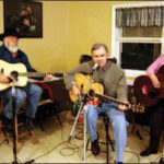 Fred with Still Pickin' at the American Legion in Lebanon, CT - 2009